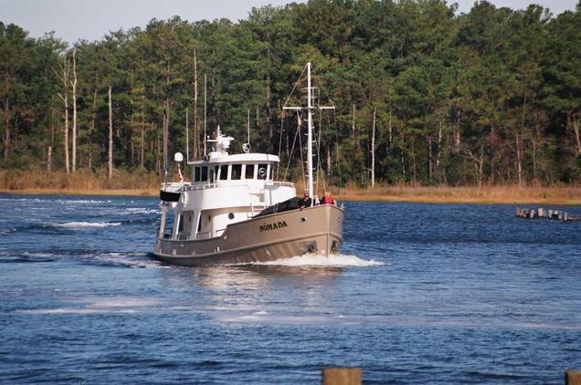 Trawler - Custom Steel Northsea