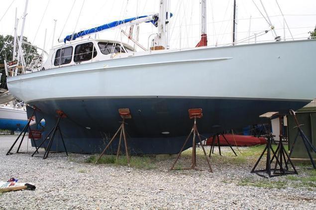 Treworgy Custom Steel Motor Sailer