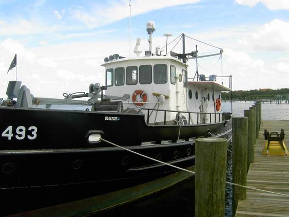 Work Boat - US Army T Boat - Yacht Conversion - Higgins Trawler, , Cargo Ship