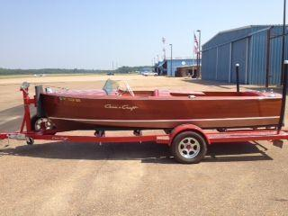 Chris Craft Special Runabout TOTALLY RESTORED