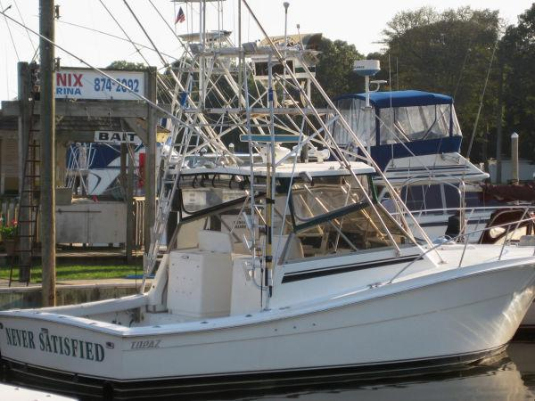 Topaz custom sportfish brick7 boats for Moriches boat and motor