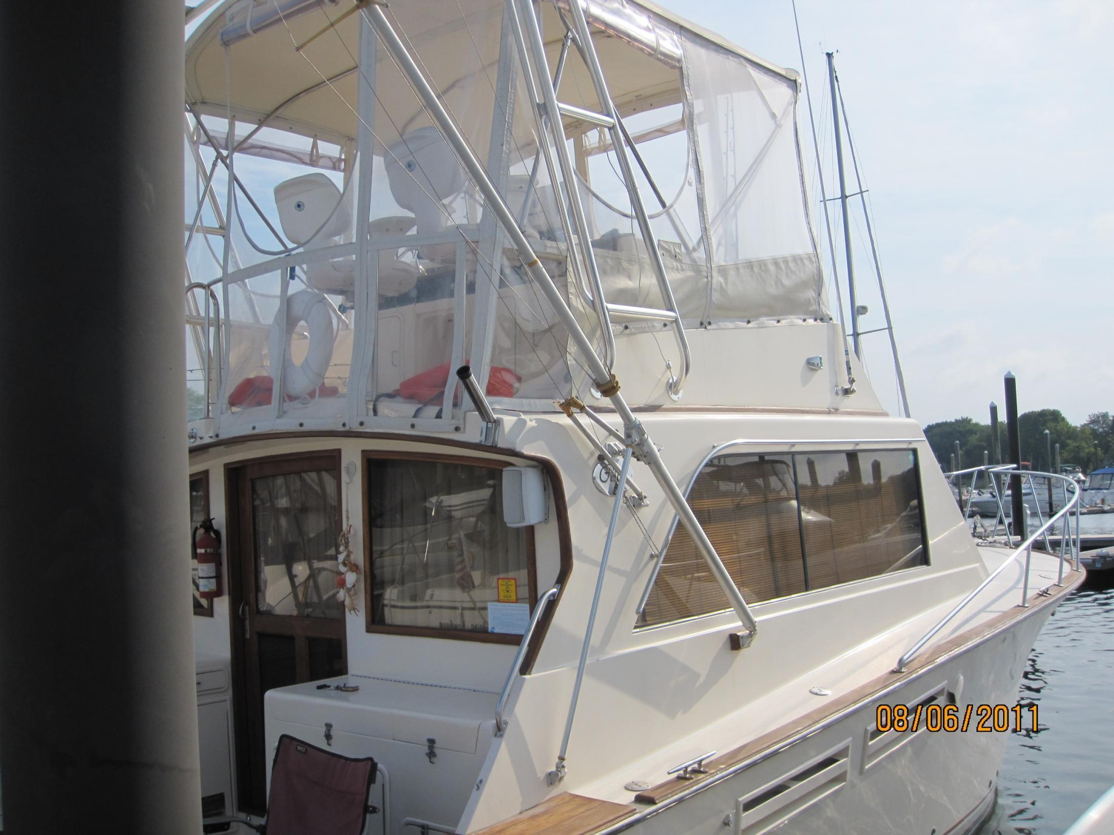 Pace 36 Conv. (Egg Harbor design)NEW ENGINES, Warwick