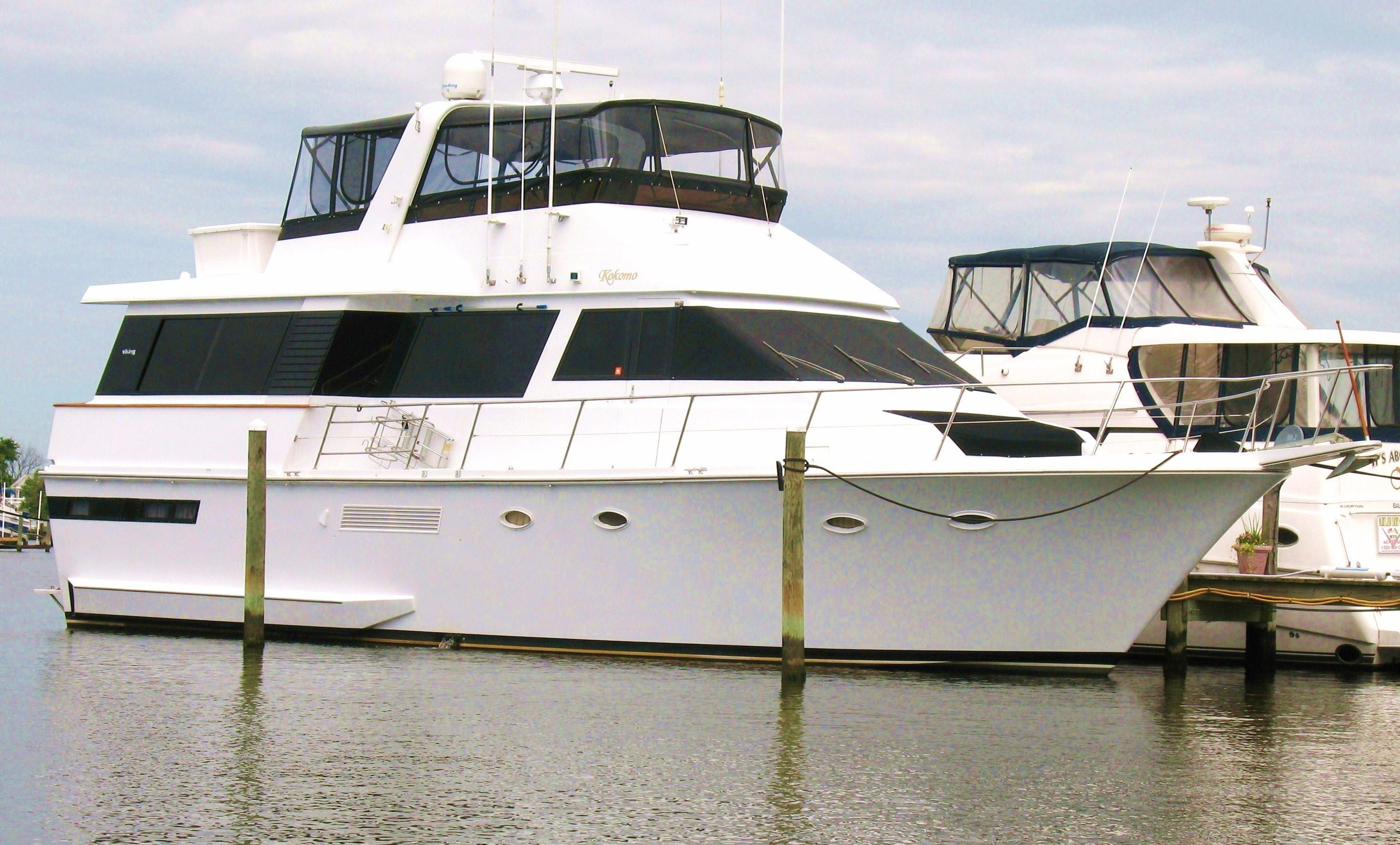 Viking 55 Motor Yacht Brick7 Boats