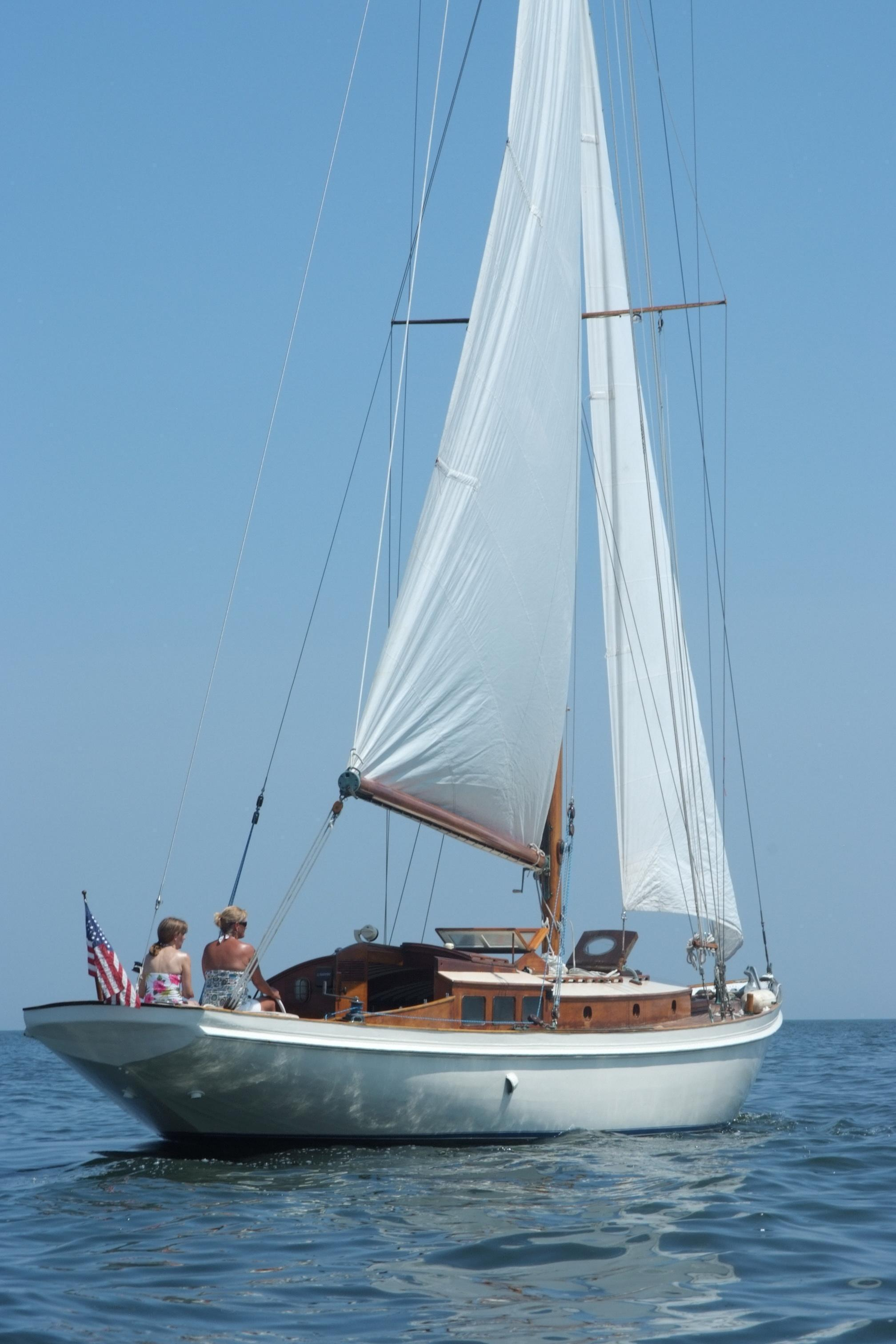 Classic Philip Rhodes Yacht , Windmill Point