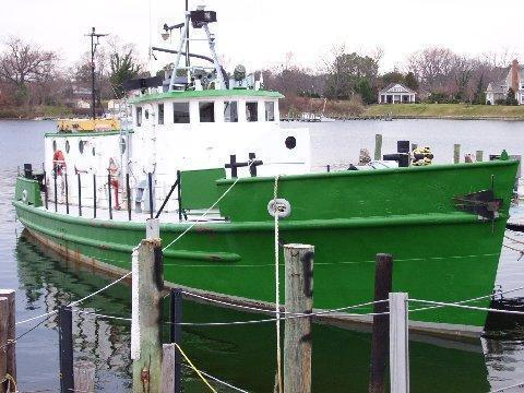 Higgins US Army T Boat - Cargo Utility, Yacht Conversion - New Audio Guage Report,