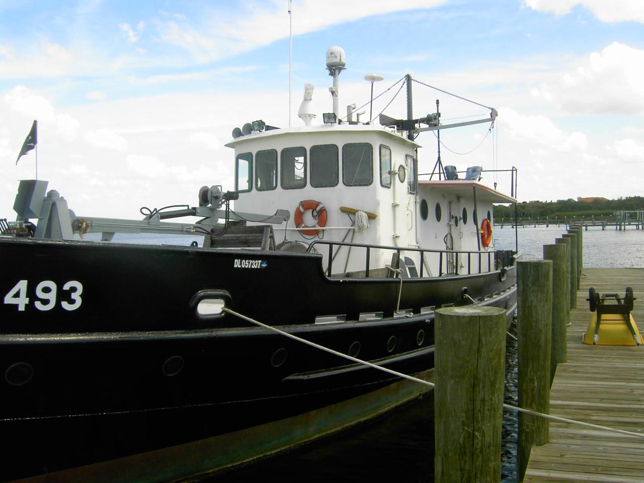 US Army T Boat - Yacht Conversion - Higgins Trawler, Work Boat, Cargo Ship, West Coast