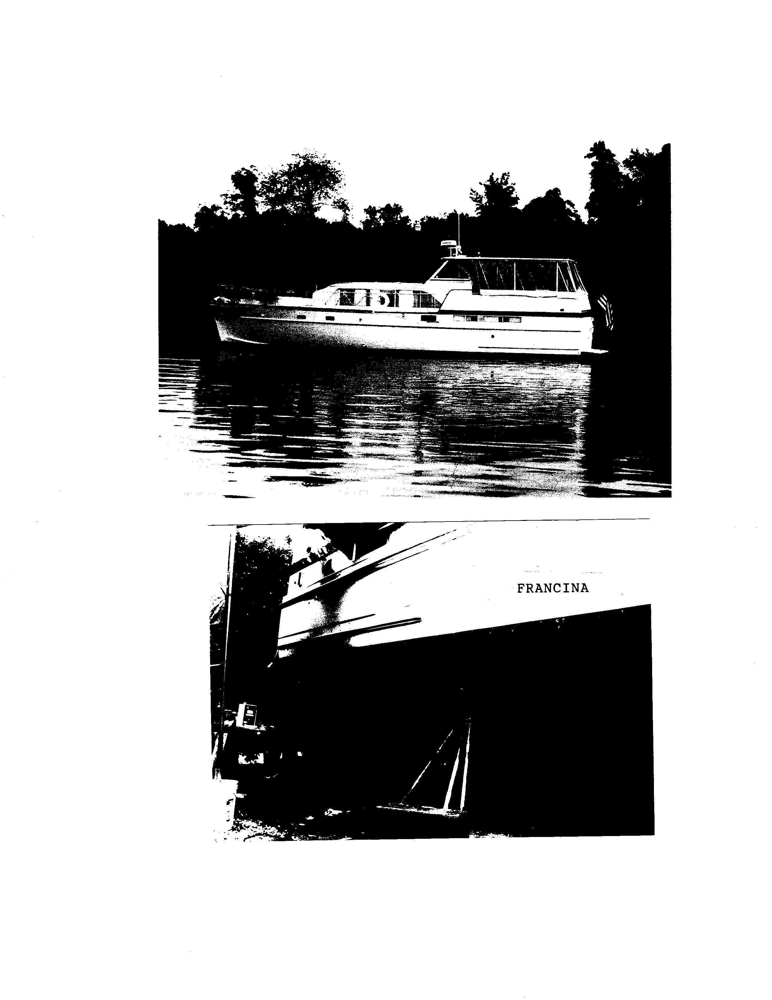 Matthews Tri-Cabin Motoryacht, Grasonville,.