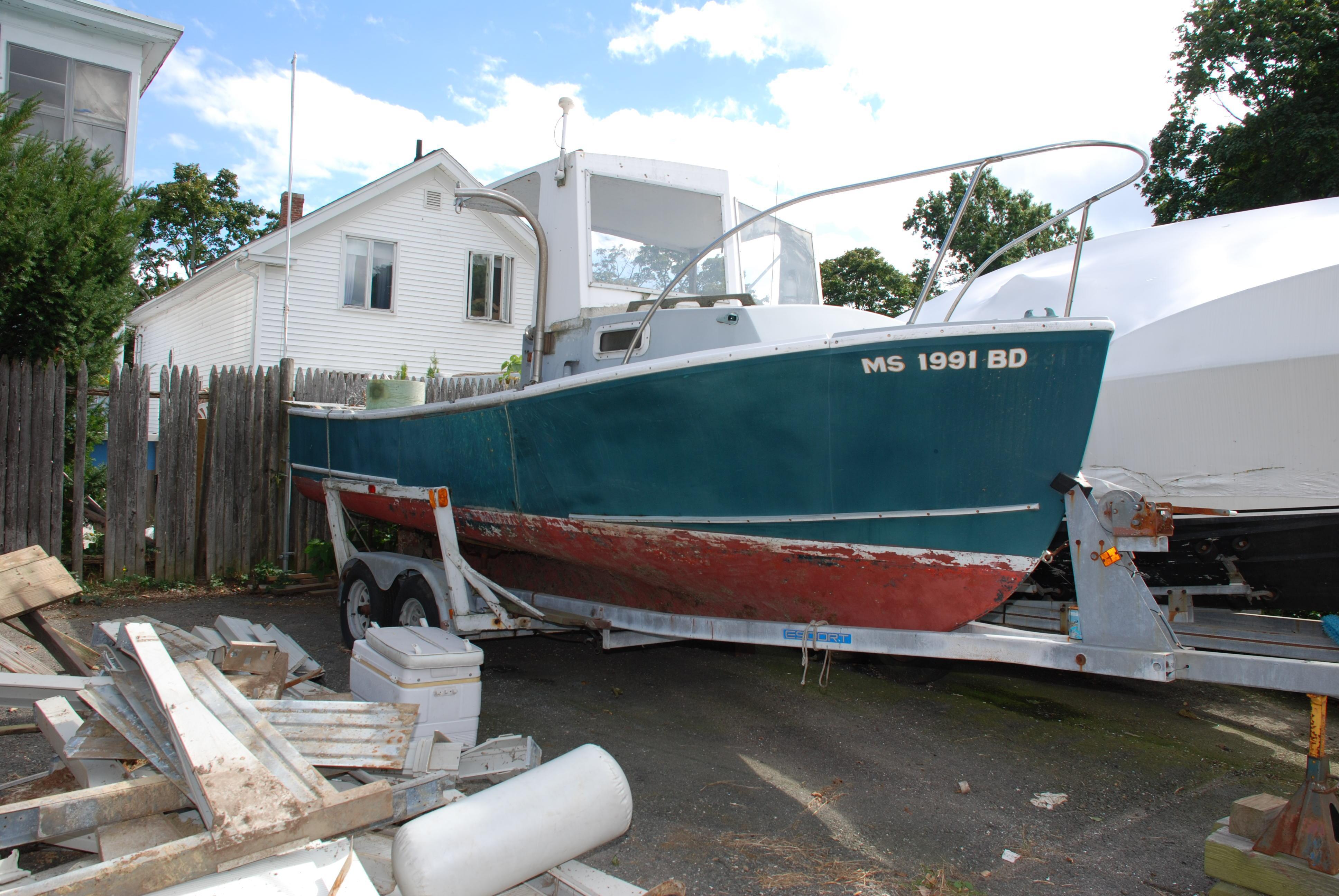 SISU Downeast Lobster Boat - 22',