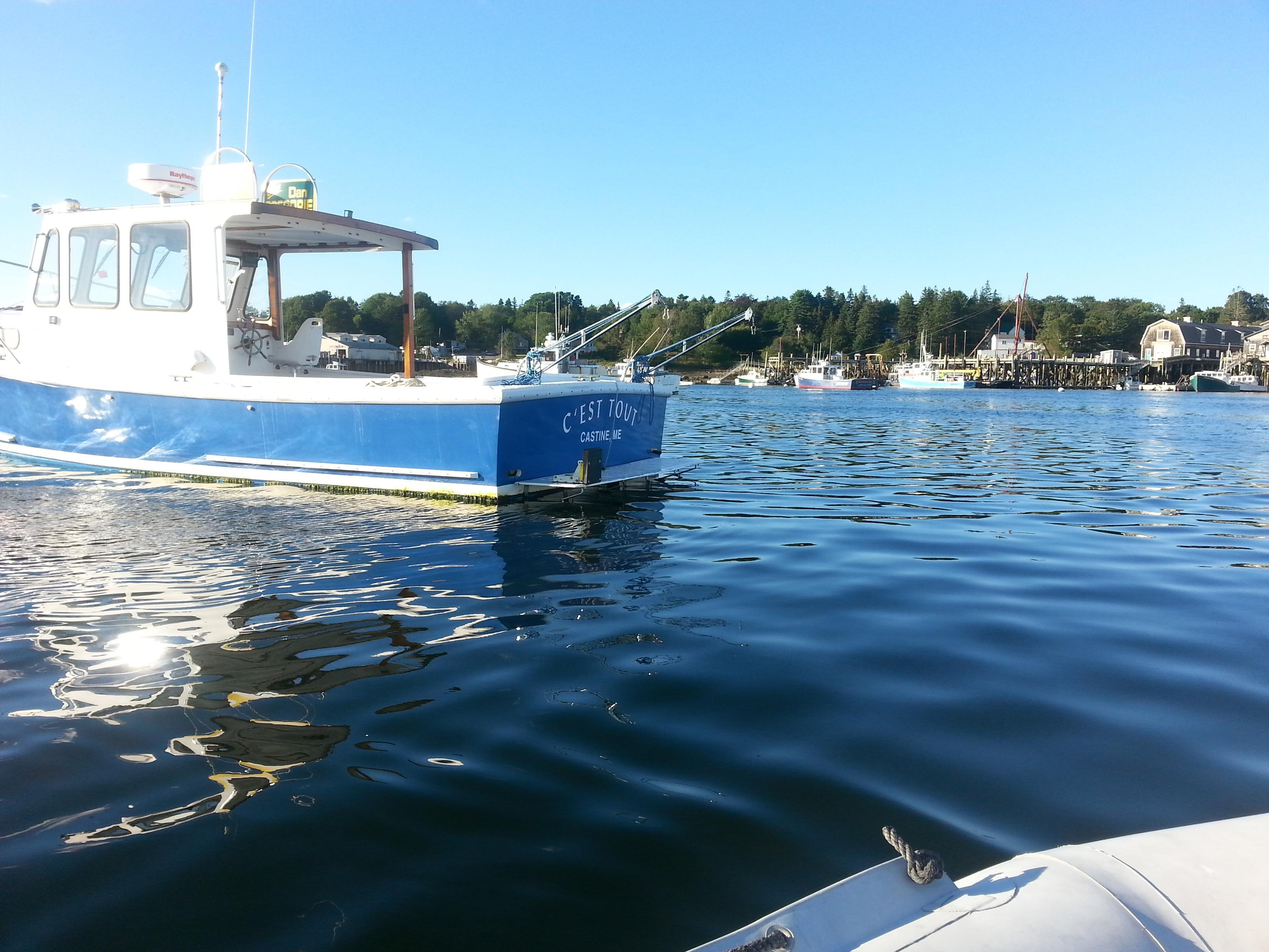 Blue Hill Marine (BHM) Lobster Boat Cruiser, Southwest Harbor