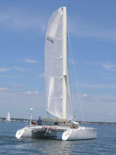Newick Catamaran, Yarmouth