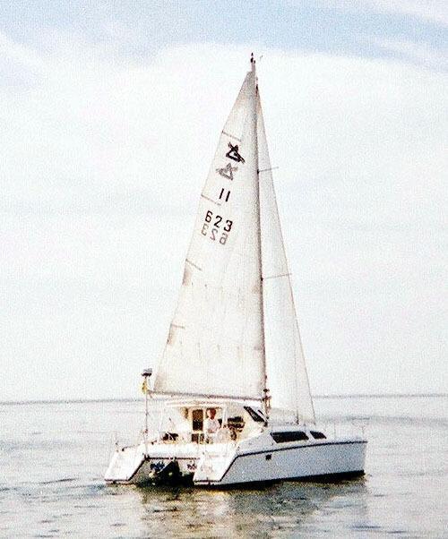 Gemini 105M with Tabernacle Mast, Oxnard