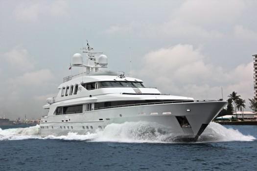 Trident Tri-Deck Motor Yacht, Ft. Lauderdale