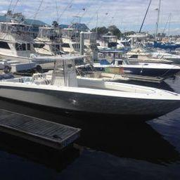 Contender with Trailer, Fort Lauderdale