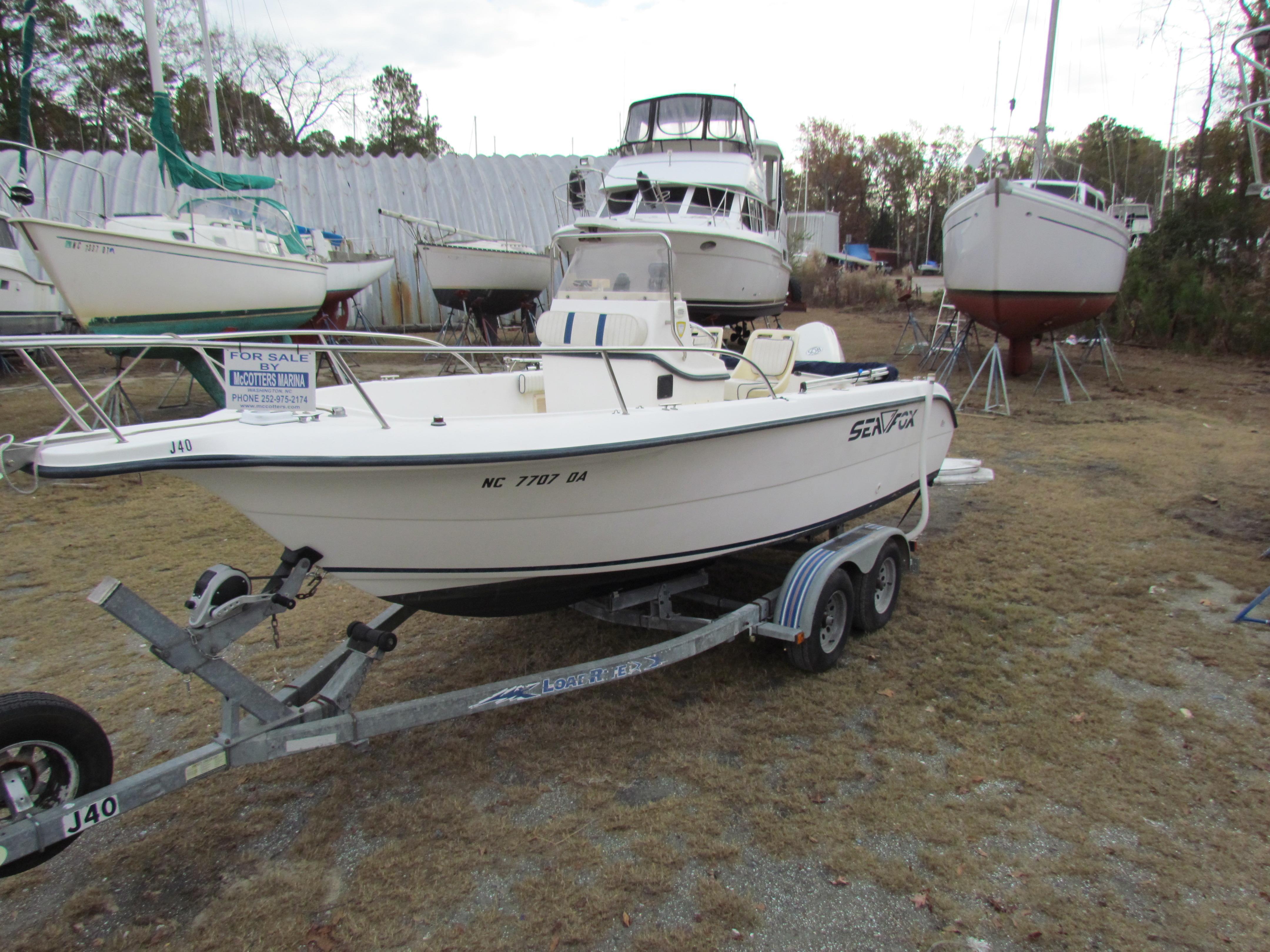 Sea Fox 210 CC, Washington