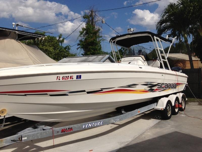 Wellcraft 302 SCARAB SPORT, Miami