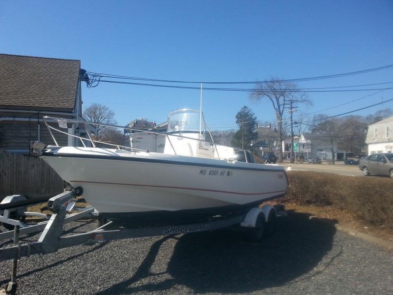 Boston Whaler 21 Outrage - Brick7 Boats