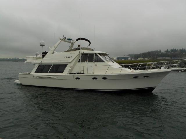 Meridian 490 Pilothouse Motor Yacht, Anacortes
