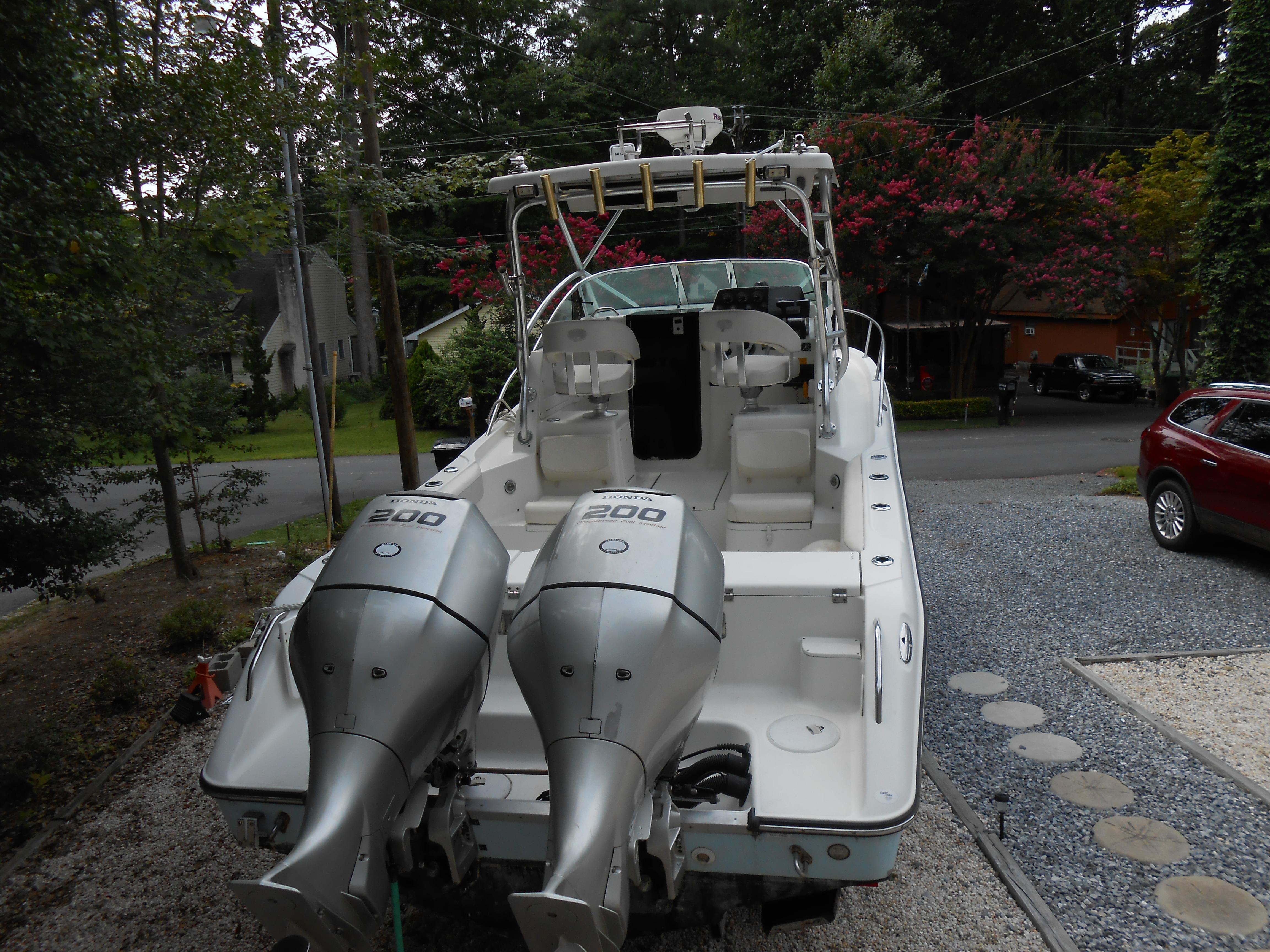 Triton 2690 WA with trailer, Rehoboth