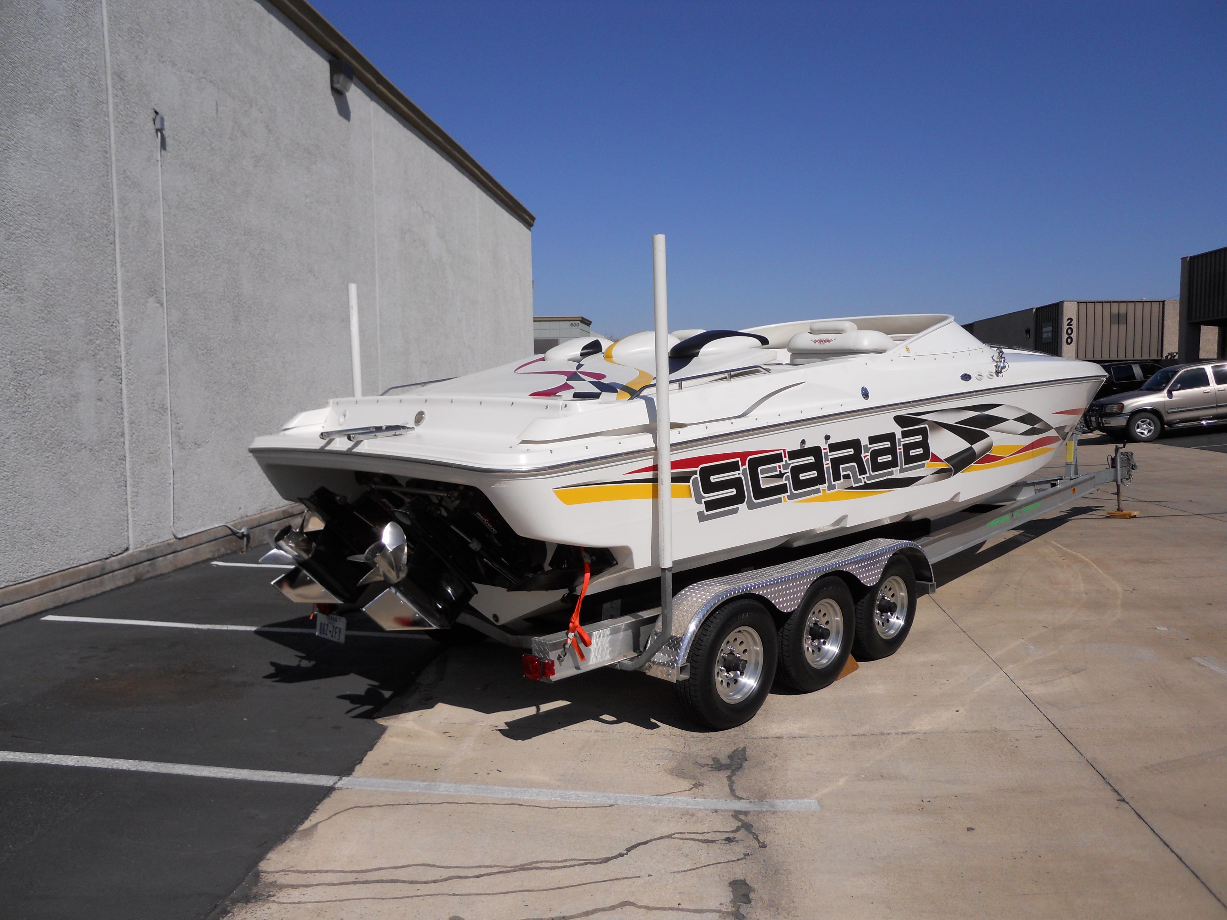 Wellcraft Scarab 33 AVS, Austin
