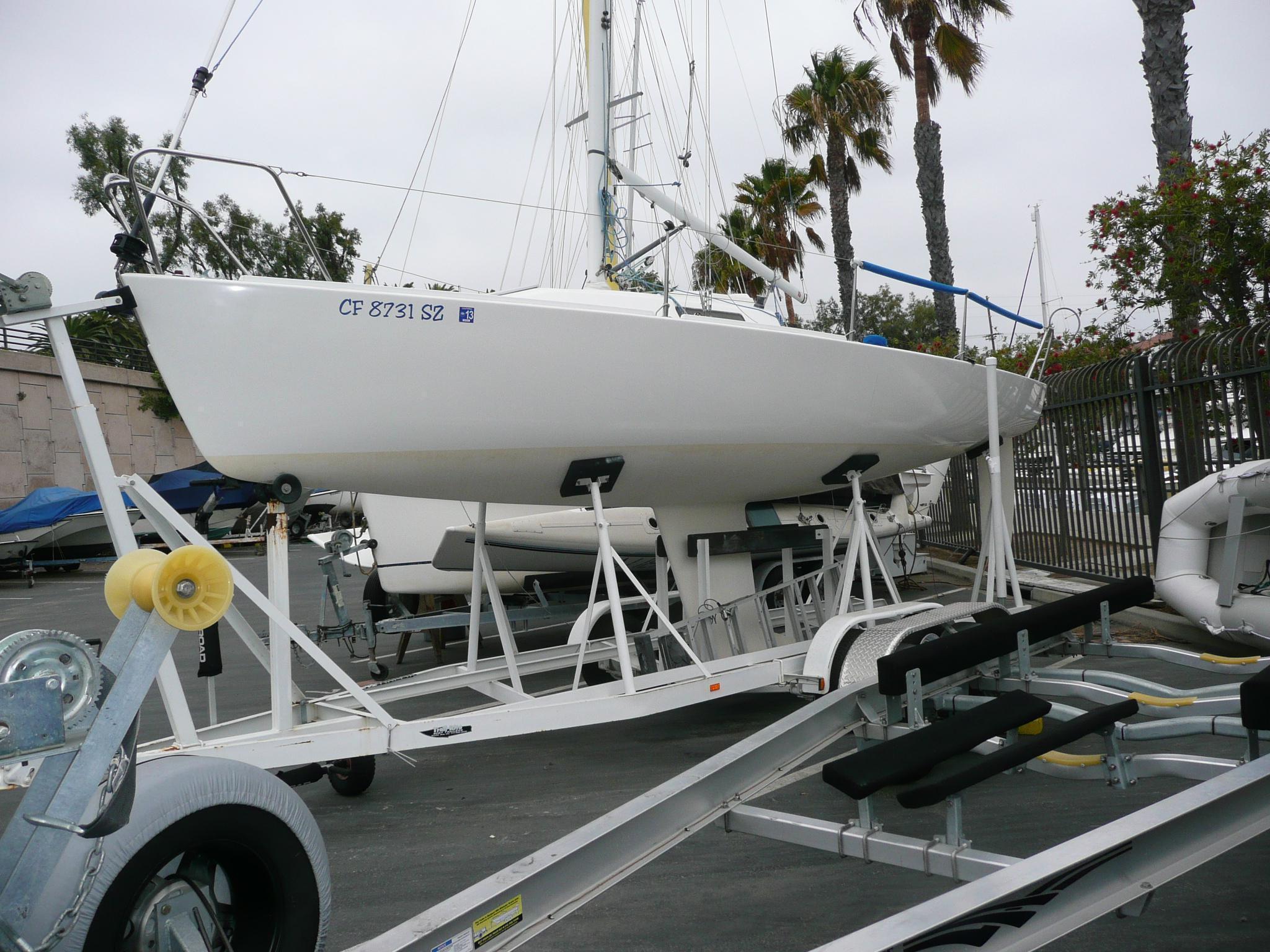 J-Boats-80 Racer Sloop, San Pedro