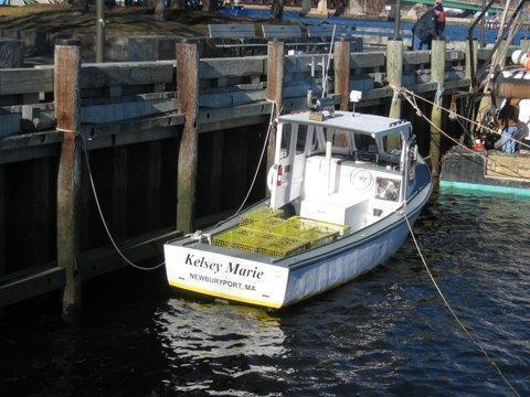 Benny Beal Lobster Boat