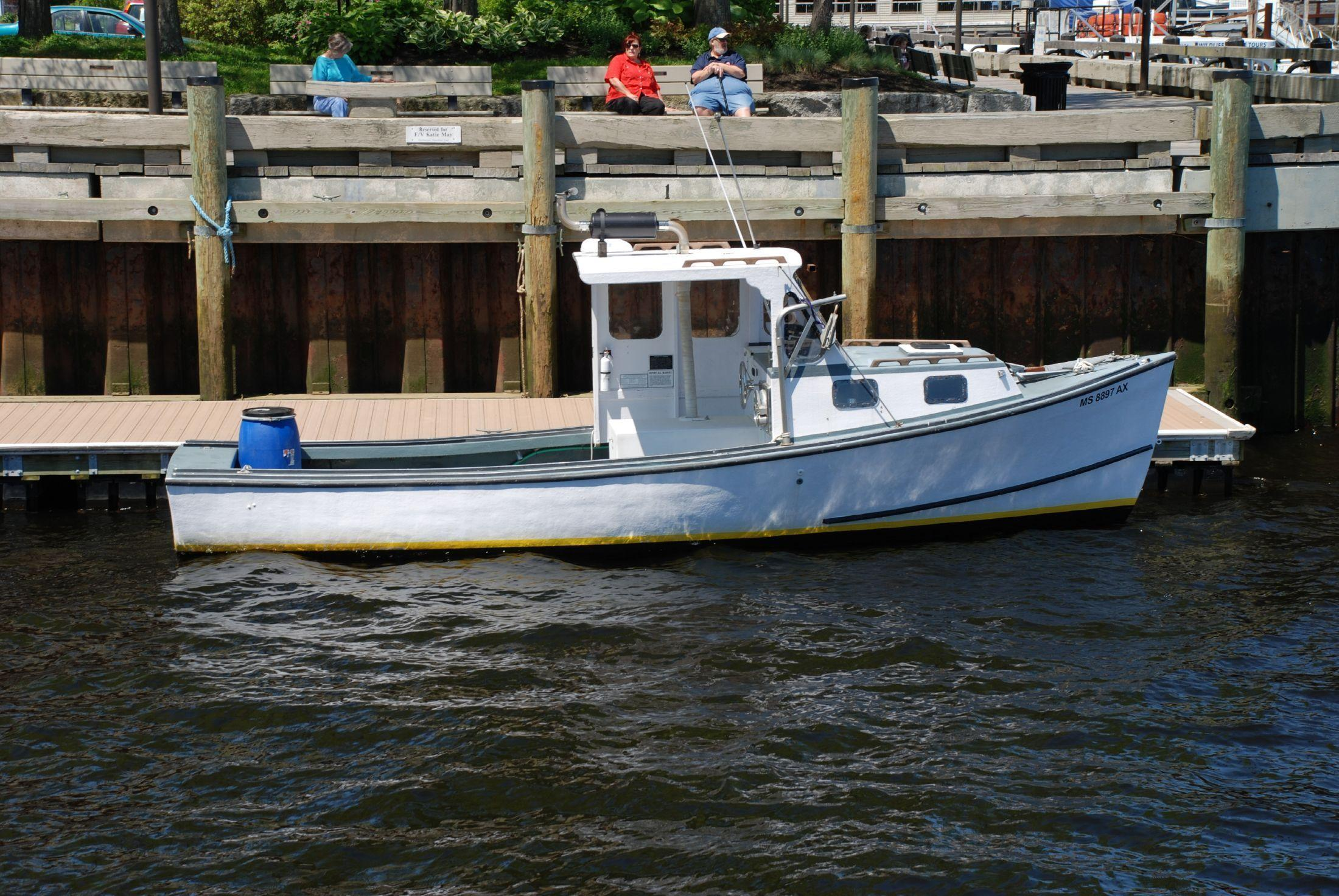 Benny Beal Lobster Boat with ss Area 1 Permit, Newburyport