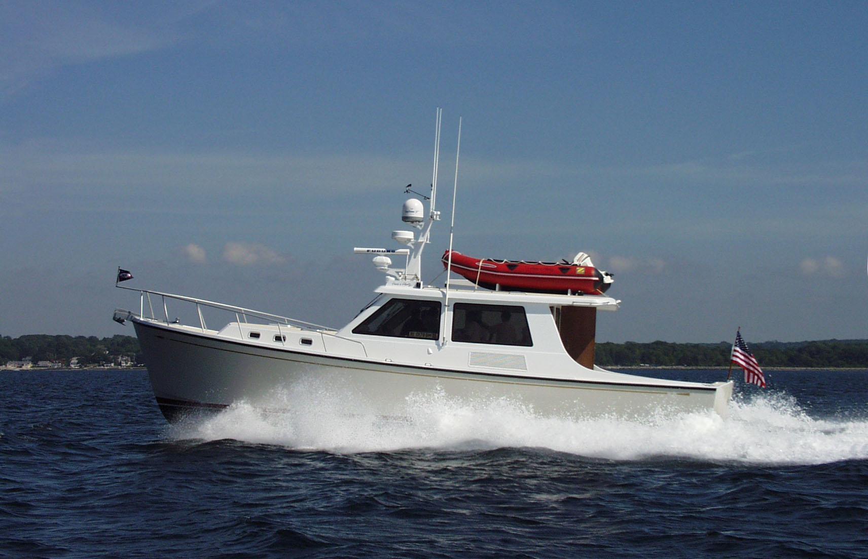 New England Boatworks S&S Custom 45, Belfast