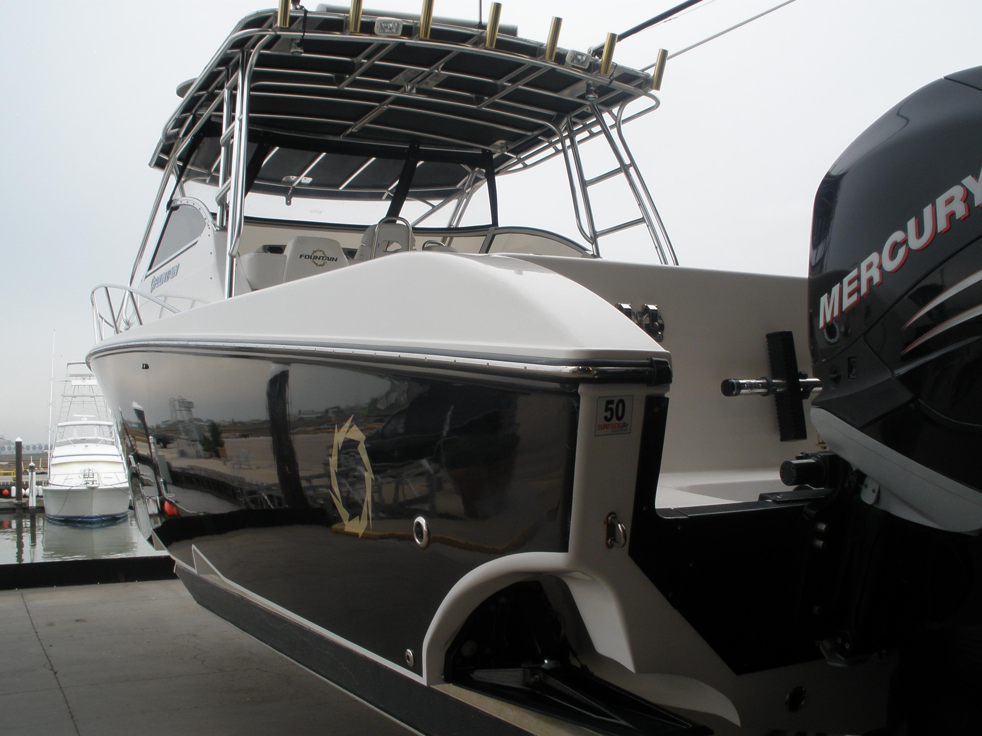 Fountain 38 Sportfish Cruiser OB, Surfside Beach