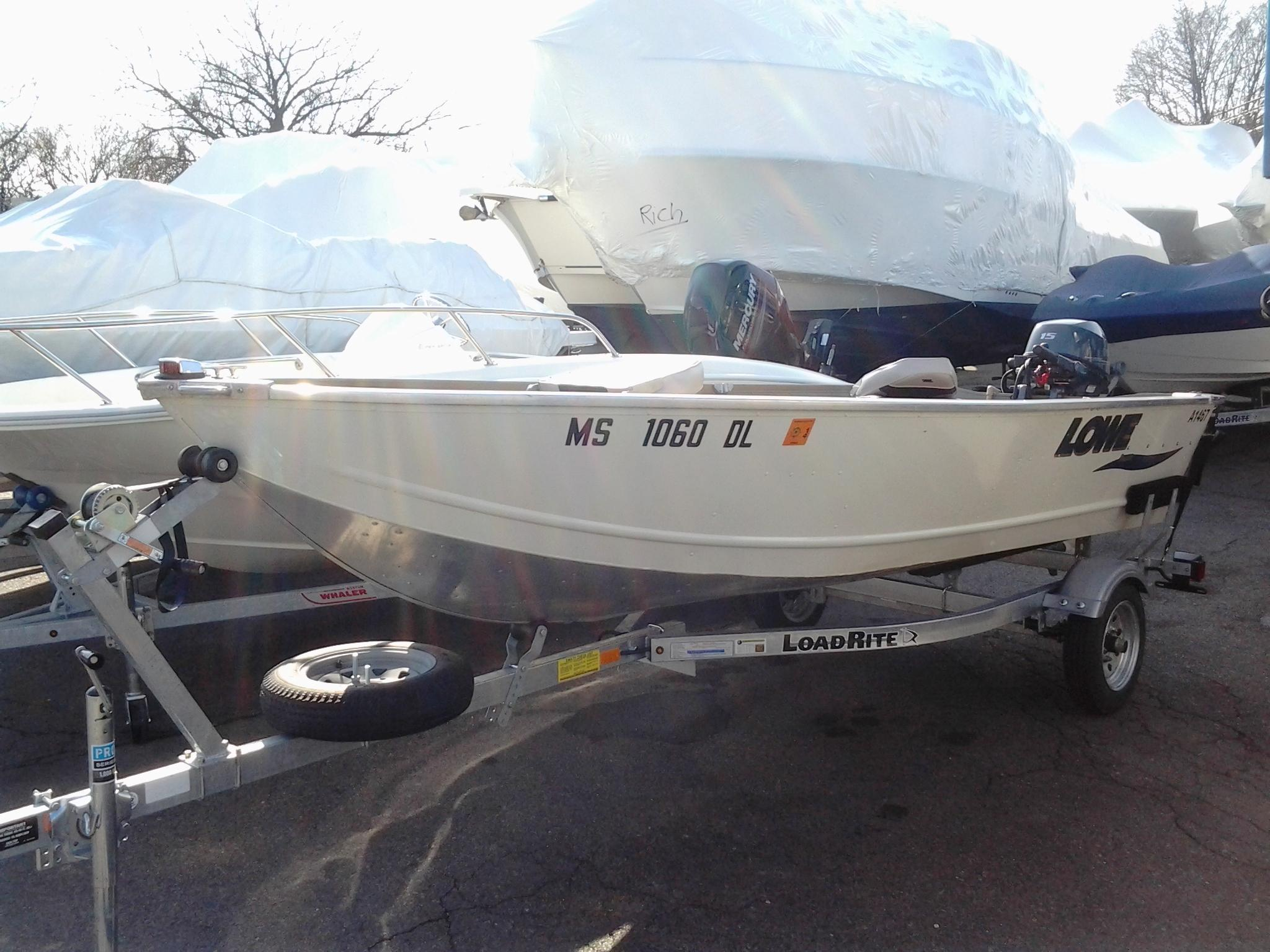 Lowe Angler 1467 WT with Trailer, Medford
