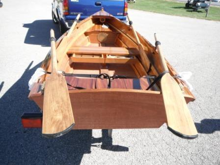 Custom Arch Davis Dinghy / Row Boat, Bay City
