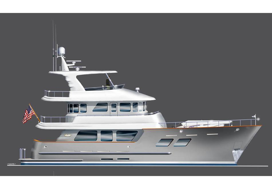 Northern Marine 70 Aft Pilothouse