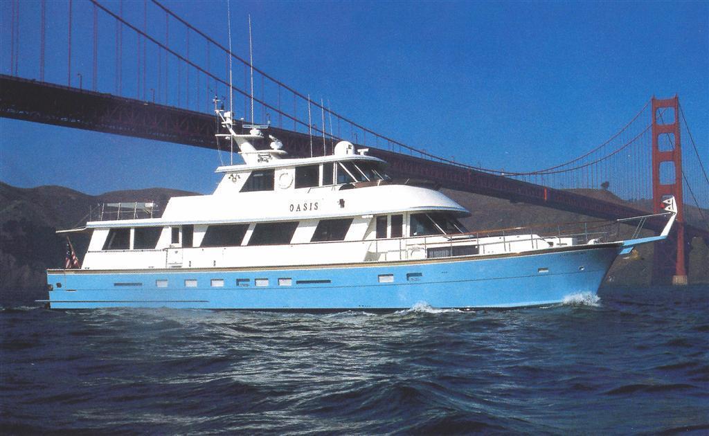 Hatteras 80 Motor Yacht, San Rafael