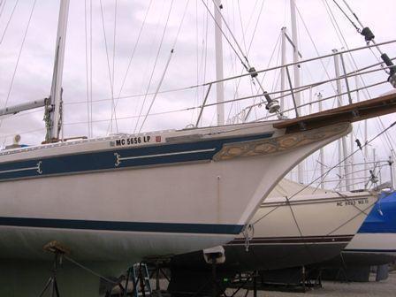 Bayfield Cutter Sailboat