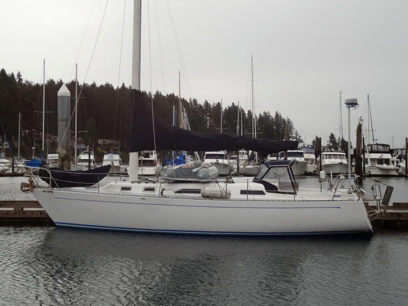 Freedom Yachts 36 Sloop, Anderson Island