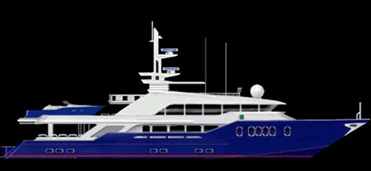 Ruby Yachts Expedition Yacht 125