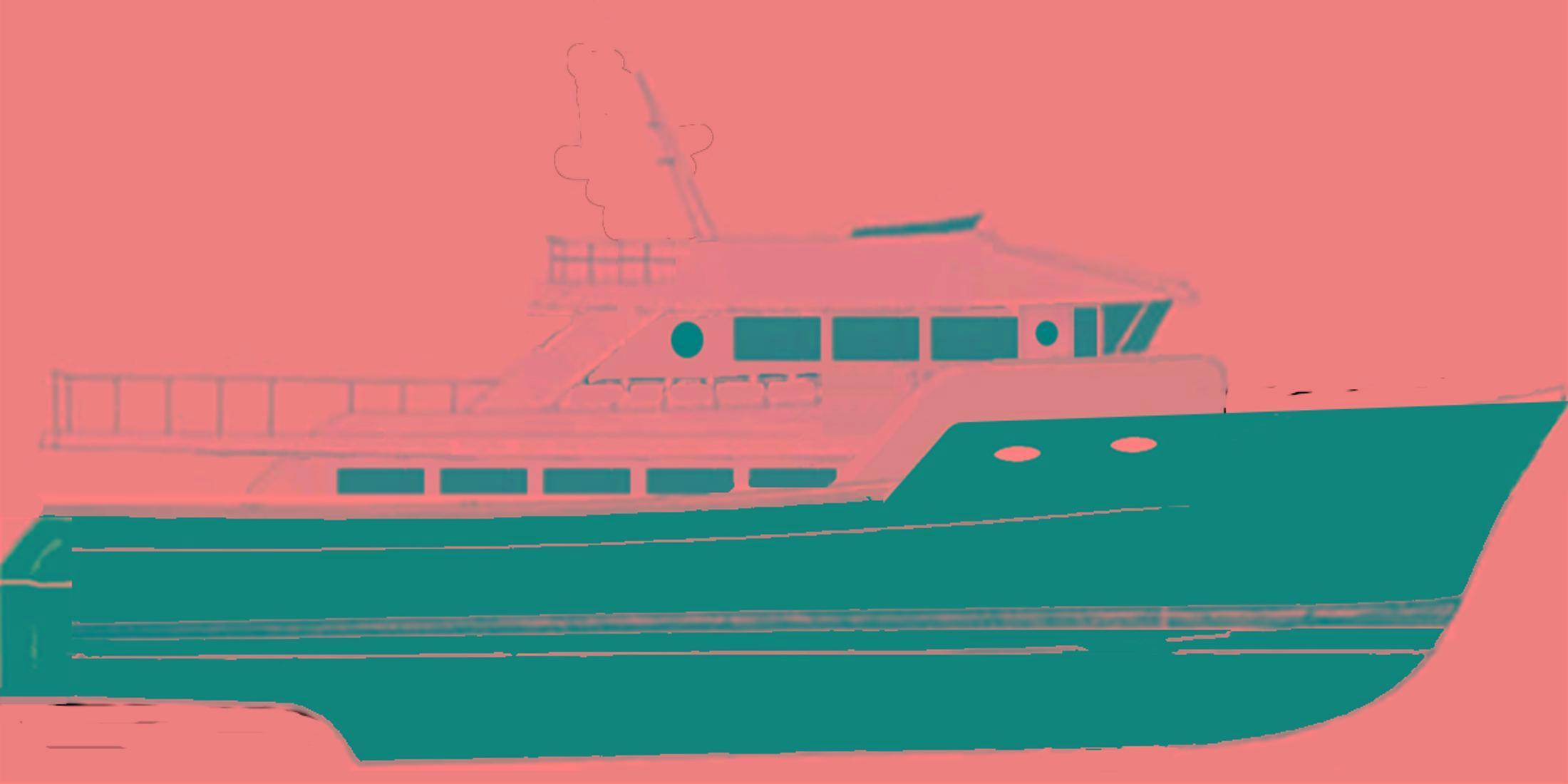 Ruby Yachts Expedition Yacht 60 House Forward