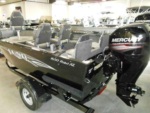 2014 Lund 1650 Rebel XL