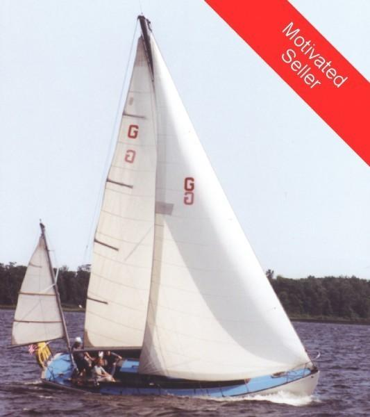 1970 CUSTOM BUILT 33 Wooden Yawl