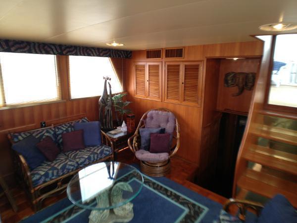 1985 CHB/Hatteras ybridge Sundeck Motoryacht