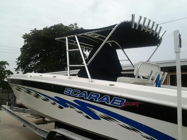 1997 Wellcraft Scarab Cuddy Cabin