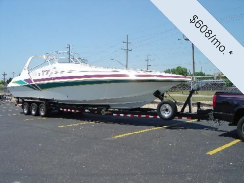 1998 Fountain 38 Sport Cruiser