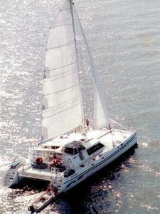 1999 Woodwind - Kurt Hughes - Custom Catamara Catamaran