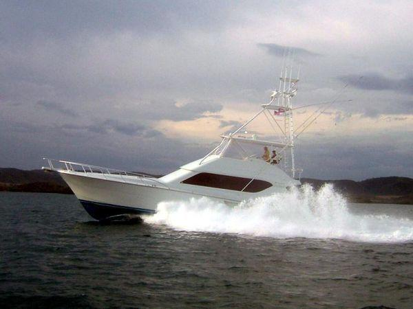 2001 Hatteras 65 Convertible Open Bridge MTU