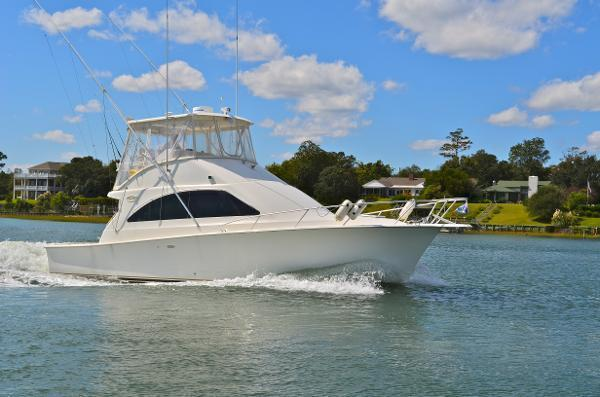 2001 Ocean Yachts 40 Super Sport Fish