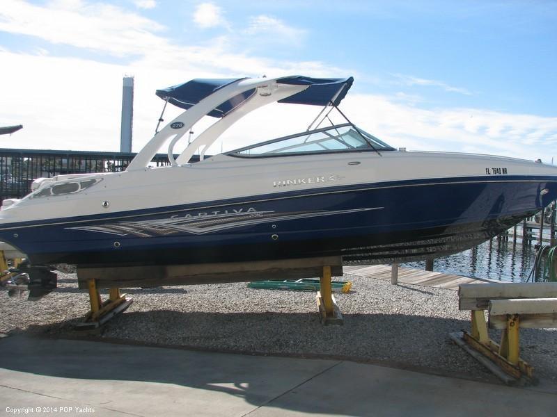 2008 Rinker 276 Captiva Bowrider