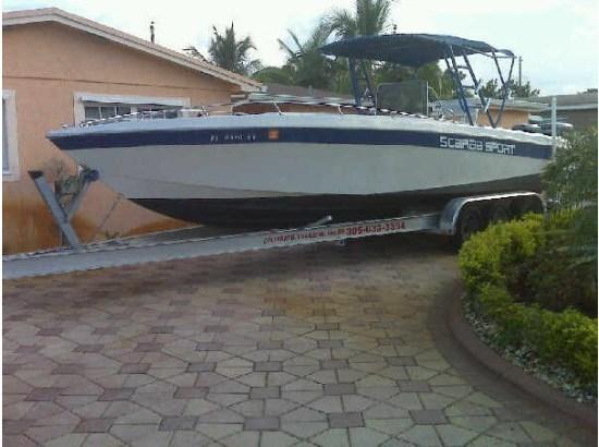 1987 Wellcraft Scarab Sport