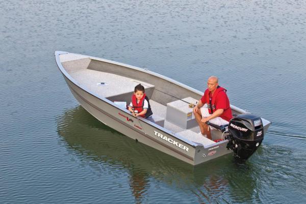 2012 Tracker Guide V-16 Laker Deep V Boat