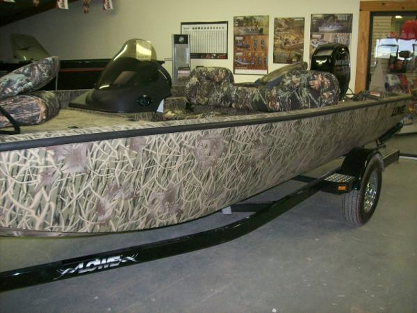2013 Lowe ST 175 Poly Camo Reelfoot River Bottom  Rockville